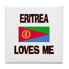 Eritrea Loves Me Tile Coaster