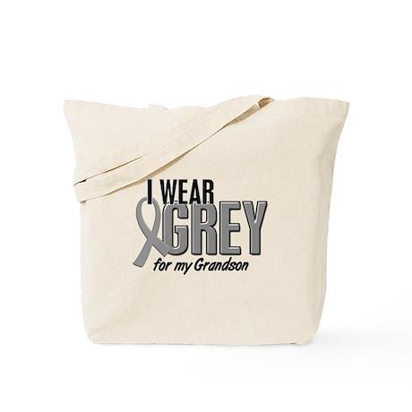 I Wear Grey For My Grandson 10 Tote Bag