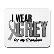 I Wear Grey For My Grandson 10 Mousepad