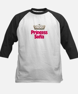 Princess Sofia Kids Baseball Jersey