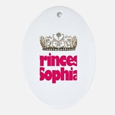 Princess Sophia Oval Ornament