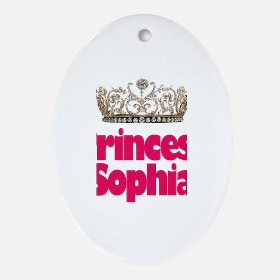 Princess Sophia Oval Ornament