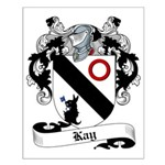 Kay Family Crest Small Poster