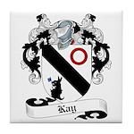 Kay Family Crest Tile Coaster