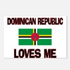 Dominican Republic Loves Me Postcards (Package of