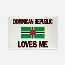 Dominican Republic Loves Me Rectangle Magnet