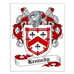 Kennedy Family Crest Small Poster