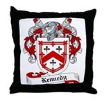 Kennedy Family Crest Throw Pillow