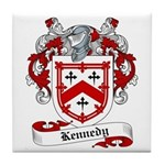 Kennedy Family Crest Tile Coaster