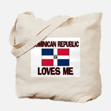 Dominican Republic Loves Me Tote Bag