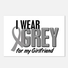 I Wear Grey For My Girlfriend 10 Postcards (Packag