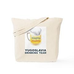 Yugoslavia Drinking Team Tote Bag