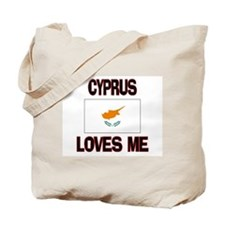 Cyprus Loves Me Tote Bag