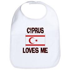Cyprus Loves Me Bib