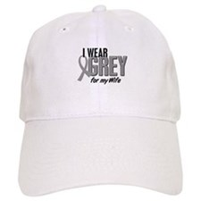 I Wear Grey For My Wife 10 Baseball Cap