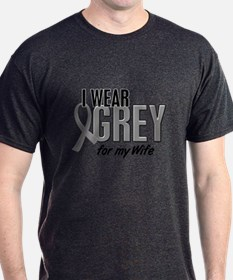 I Wear Grey For My Wife 10 T-Shirt