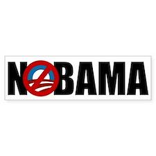 NOBAMA Bumper Car Sticker