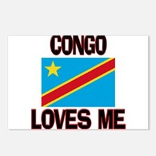 Congo Loves Me Postcards (Package of 8)