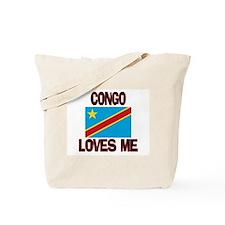Congo Loves Me Tote Bag