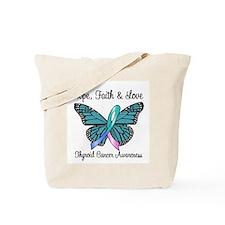 Thyroid Cancer Hope Tote Bag