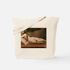 Felix-Jacques Moulin Nude Daguerreotype Tote Bag