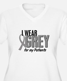 I Wear Grey For My Patients 10 T-Shirt