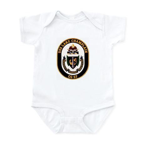 USS Lake Champlain Infant Bodysuit