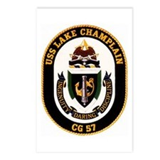 USS Lake Champlain Postcards (Package of 8)