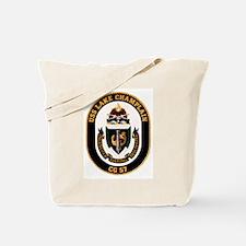 USS Lake Champlain Tote Bag