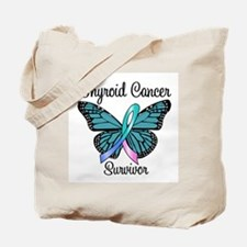 Thyroid Cancer Survivor Tote Bag