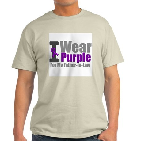 I Wear Purple (FIL) Light T-Shirt