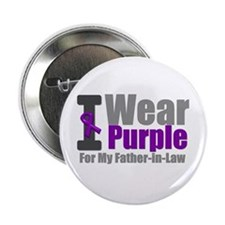 "I Wear Purple (FIL) 2.25"" Button"