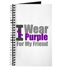 I Wear Purple (Friend) Journal