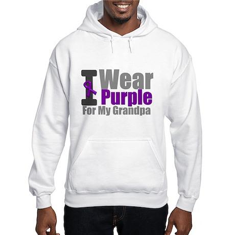 I Wear Purple (GP) Hooded Sweatshirt
