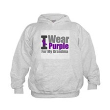 I Wear Purple (Grandma) Hoodie