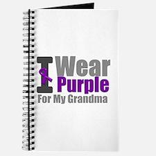 I Wear Purple (Grandma) Journal