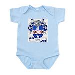 King Family Crest Infant Creeper