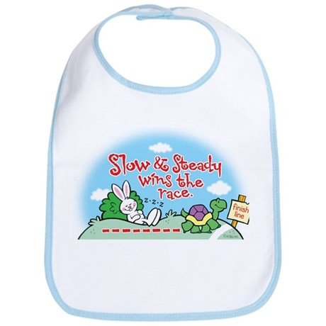 Slow & Steady Bib