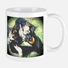Cute German Shepherd Puppies,small mug, elpace