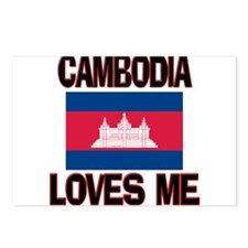 Cambodia Loves Me Postcards (Package of 8)