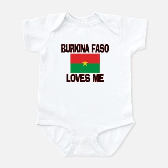 Burkina Faso Loves Me Infant Bodysuit