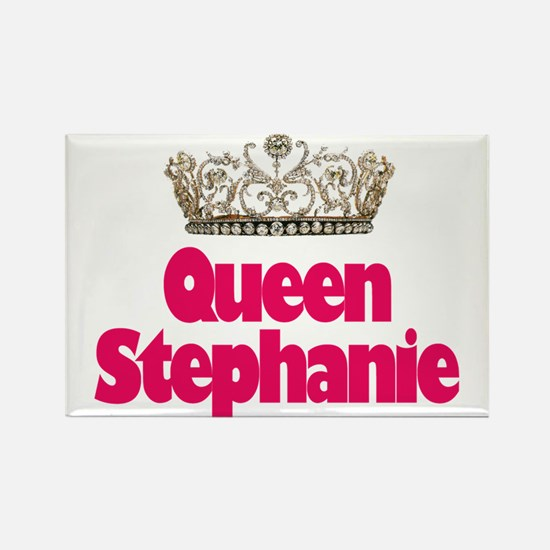 Queen Stephanie Rectangle Magnet
