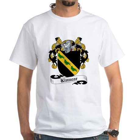 Kinnear Family Crest White T-Shirt