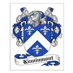 Kinninmont Family Crest Small Poster