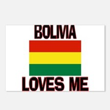 Bolivia Loves Me Postcards (Package of 8)