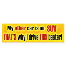 Other Car SUV Bumper Bumper Sticker