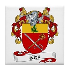 Kirk Family Crest Tile Coaster