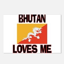 Bhutan Loves Me Postcards (Package of 8)