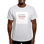 I Love Math - Light T-Shirt