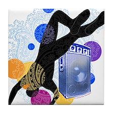 Breakdancer Tile Coaster